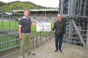 SC Freiburg erneuert Unterstützung für lokales  Kulturprojekt #inFreiburgzuhause